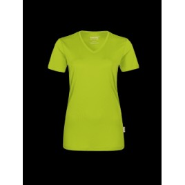 Hakro Damen-V-Shirt COOLMAX®